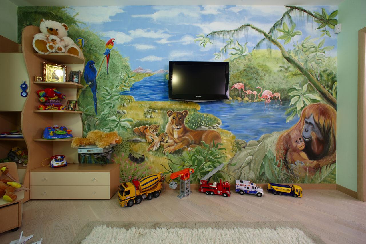 öserdő és állatok a gyerekszobában 2