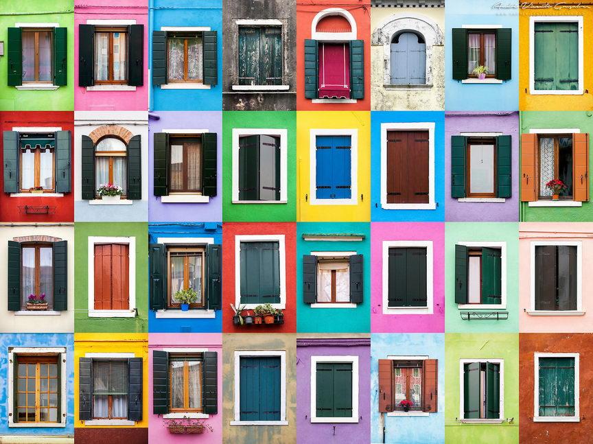 ablakok a világból - burano