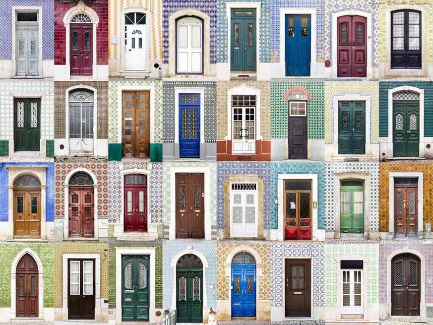 bejárati ajtó és ajtók a világból