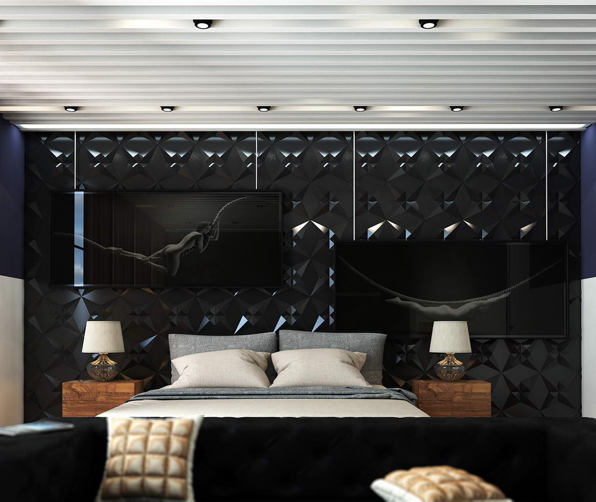 hálószoba inspiráció fekete modern hálószoba inspiráció és ötlet ... 2e46e0529d