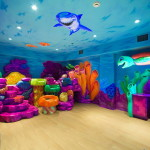 gyerekszoba falfestés - különleges tengeri falfestések