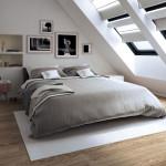 hálószoba fal fényképekkel