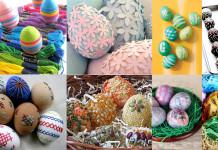 Húsvéti tojás és tojásfestés, tojásdekoráció