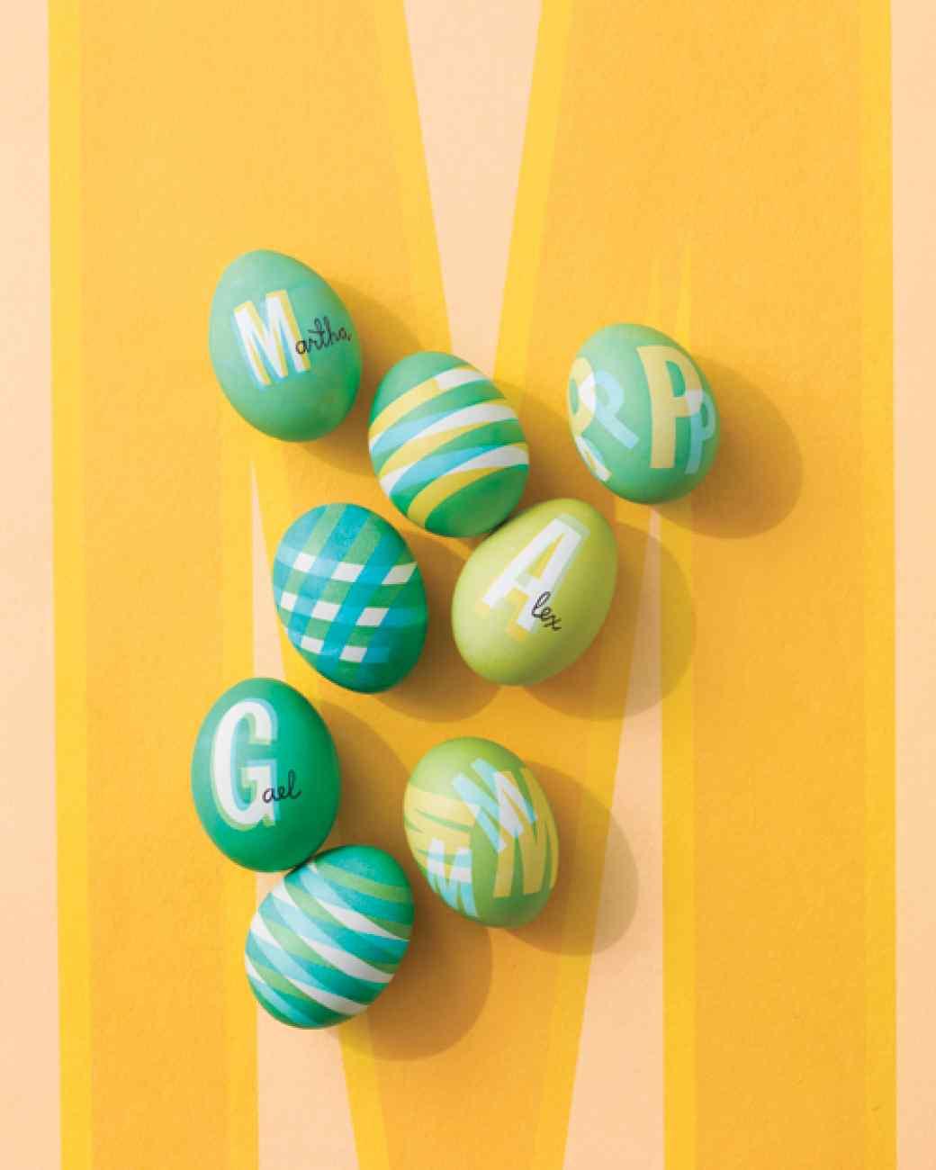 húsvéti tojás, tojásfestés - szigeteloszalag