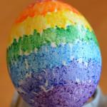 húsvéti tojás, tojásfestés - zsírkréta festéssel