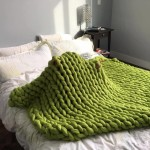 kötött takaró, kötött ágytakaró, kötött ruha óriás fonalból