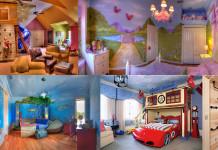 különleges gyerekszobák, gyerekszoba bútorok és lakberendezési ötletek