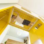 kis családi lakás moduláris bútorok - gyerekszoba