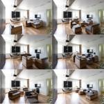 kis családi lakás moduláris bútorok - nappali moduláris bútor elrendezési lehetőségek