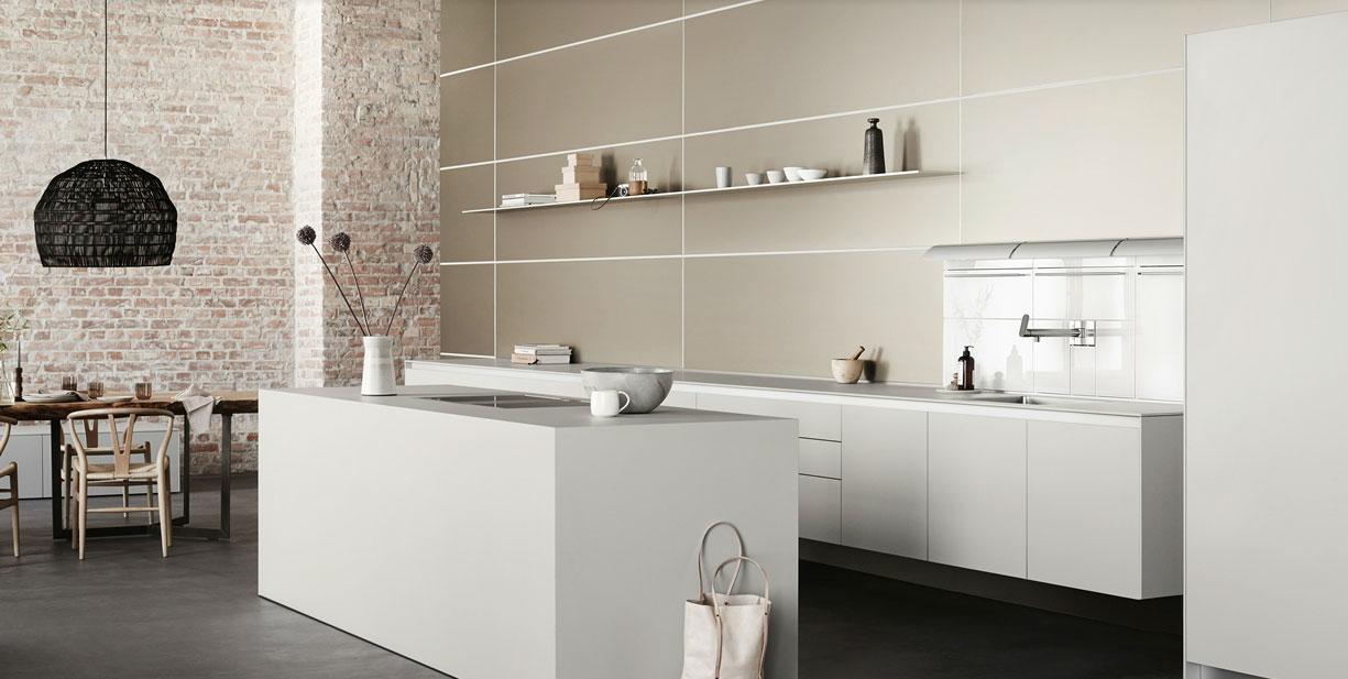 Modern konyhabútor fehér
