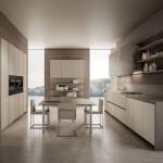 Bézs - fehér konyhabútor