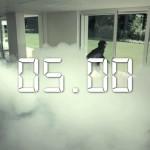 Köd ágyú, mint lakás riasztó és védelmi eszköz - Videó