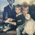 Különleges festmények és fali képek, ahol a Mozi hősök a régi képekre kerülnek - Meg is veheted