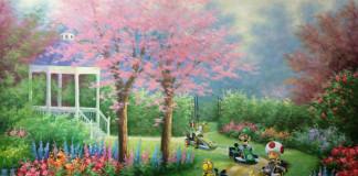 modern festmény, festmények, fali kép - mariocart