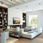 modern nappali és letisztult nappali bútorok lakberendezés 3