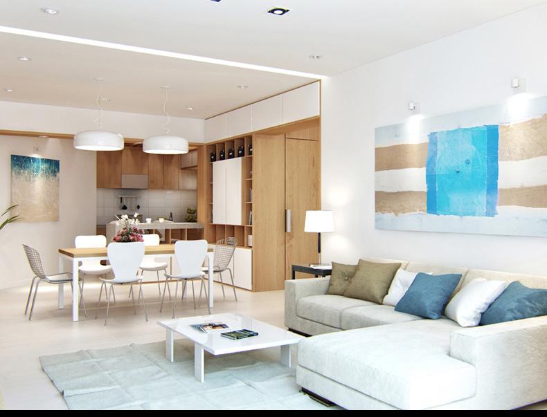 modern nappali és letisztult nappali bútorok lakberendezés 4