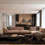 modern nappali és nappali bútor lakbernedezése