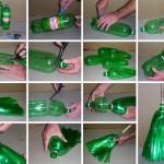 pet palack és pet kupak újrahasznosítás - seprű