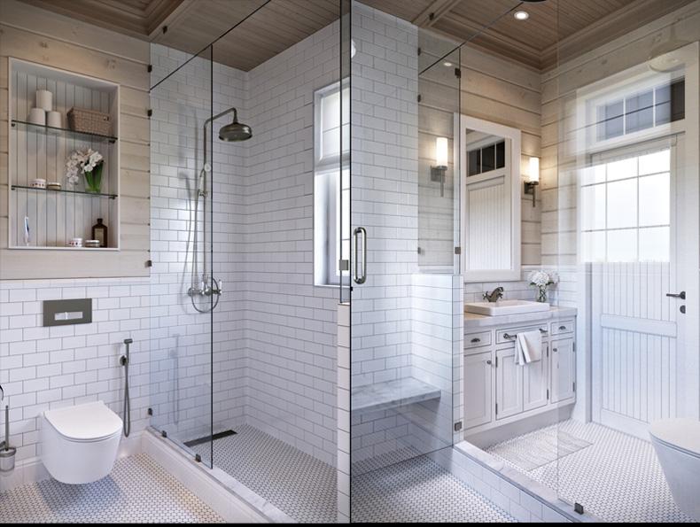 rusztikus provence stílus lakás konyha fürdőszoba mosdó wc