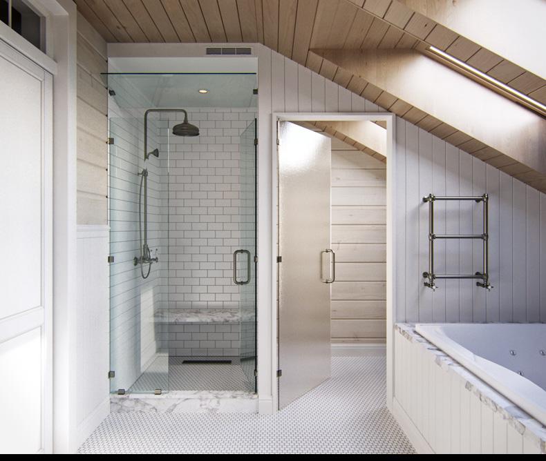 Provance st lus s rusztikus 2 szintes lak s - Losas para duchas ...