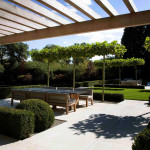modern kert és terasz