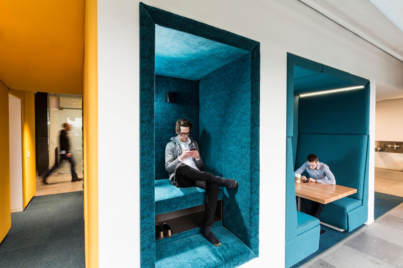 irodai pihenő fülkék