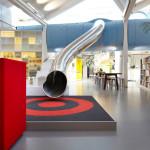 modern iroda és játszótér csúszda - Lego iroda