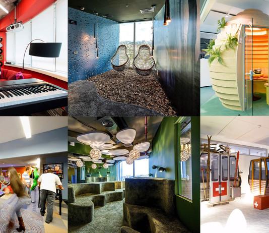 modern iroda - játszótér felnőtteknek - iroda design