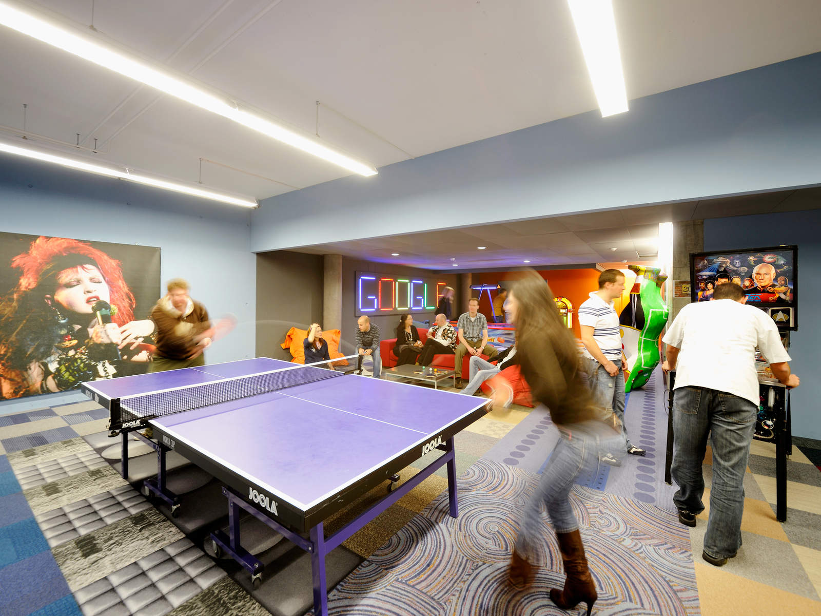 ping-pong az irodában