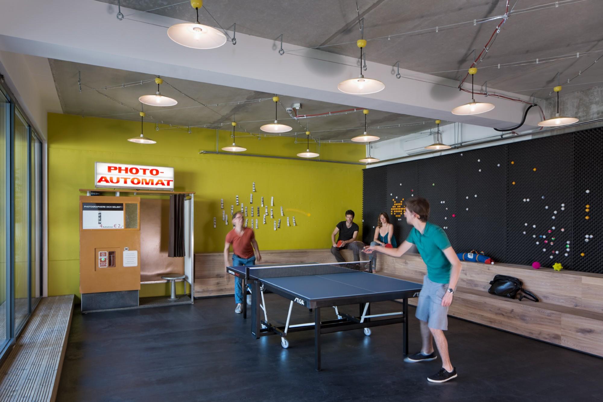ping pong szabadidő szoba