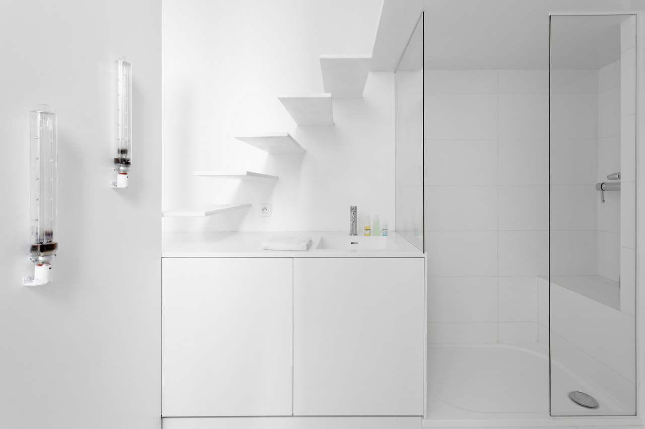 Mini lakás fehérben