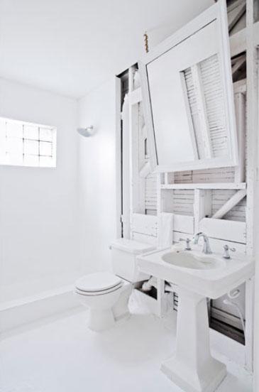 Modern és klasszikus fehérben konyha