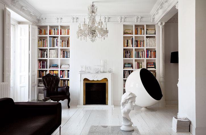 Modern és klasszikus fehérben