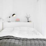 Skandináv fehér lakás