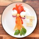 rajzfilm étel művészet - Moana