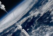 Világ legmagasabb felhőkarcolója a világűrből