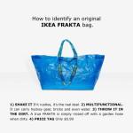 Ikea Frakta vs balenciaga táska