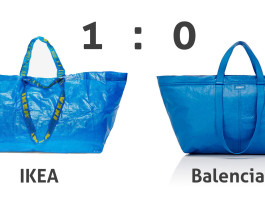 Ikea frappáns válásza a Balenciaga frakta táska másolására