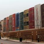 bizarr épület - Könyvtár