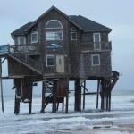 bizarr ház az óceánban