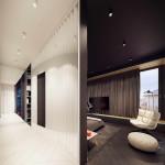 dizájn hálószoba merész lakberendezés szép ház