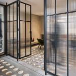 dizájn padló és fényjáték - térelválasztó