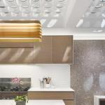 dizájn padló és fényjáték - konyha