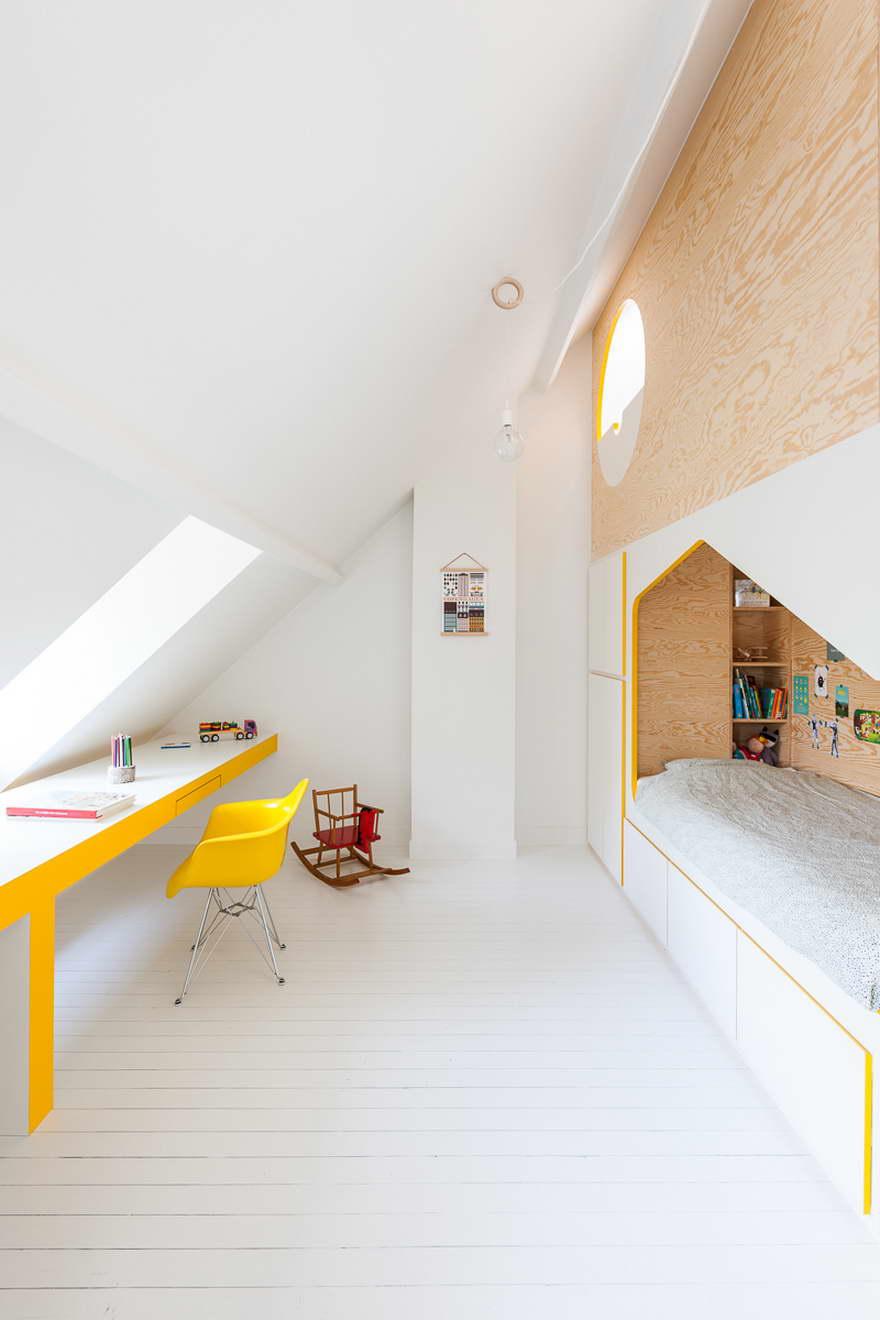 egyedi gyerekszoba - kétszemélyes ágy