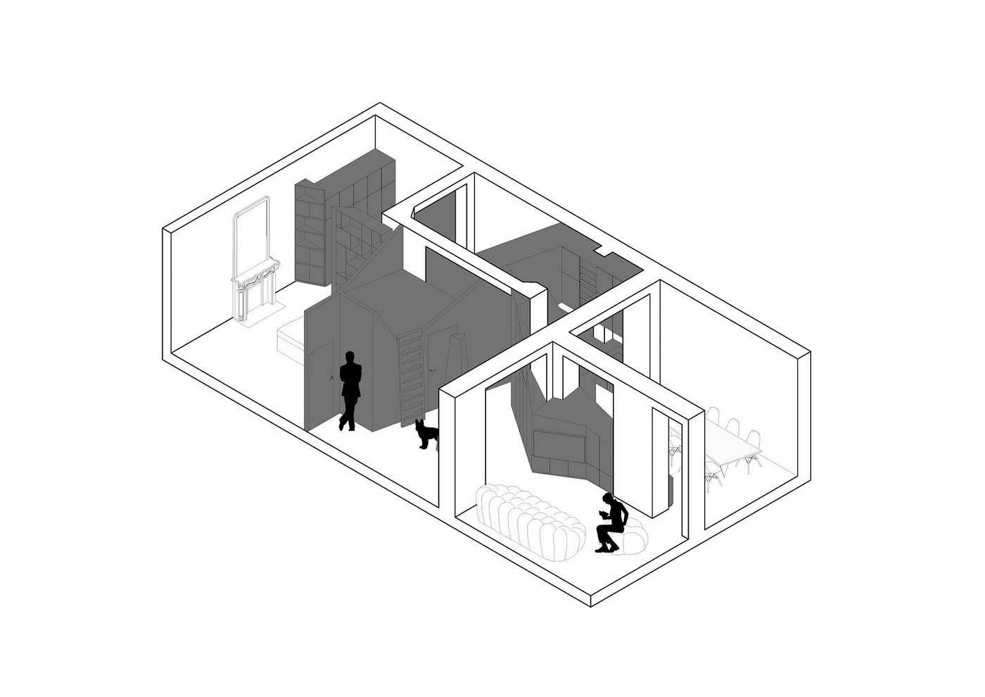 geometrikus modern dizájn
