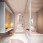 gyerek szoba pasztell színekkel