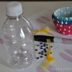 húsvéti dekoráció - nyuszi üveg készítése