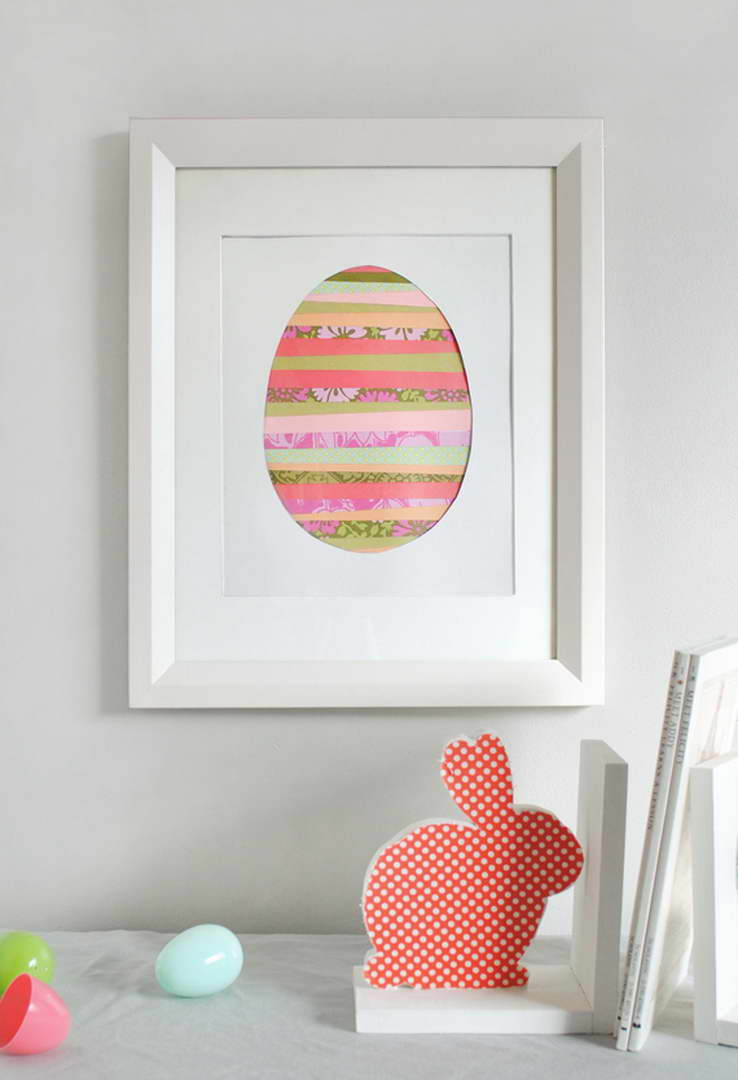 húsvéti dekoráció - papír kép