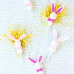 húsvérti nyuszi és húsvéti dekoráció ami nyalóka