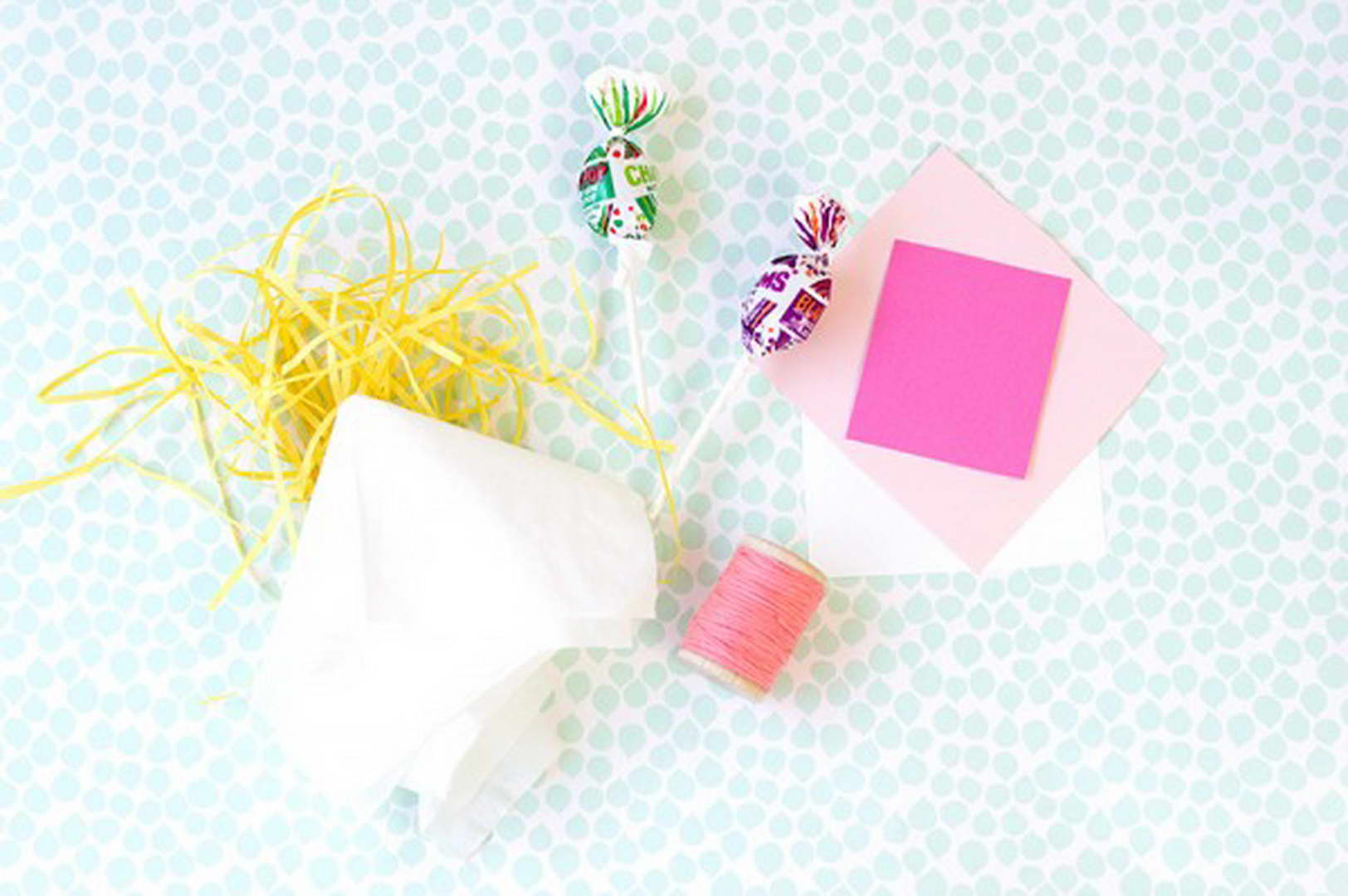 húsvérti nyuszi és húsvéti dekoráció ami nyalóka - elkészítés